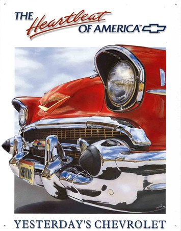 The Heartbeat Of America - Yesterday's Chevrolet