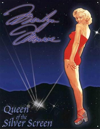 Queen Of The Silver Screen - Marilyn Monroe