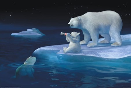 Polar Bear Refreshment - Coca Cola