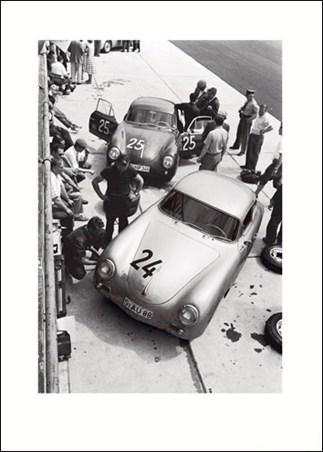 Porsche, Nuremberg, Germany, 1950's - Jesse Alexander