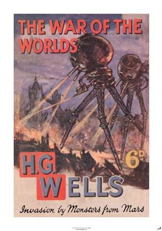 War of the worlds book hg wells