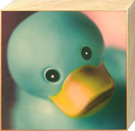 Big Blue Rubber Duck - Ian Winstanley