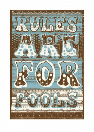 Rules Are For Fools - James Brown