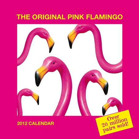 The Original Pink Flamingo - Don Featherstone's Pink Plastic Lawn Flamingo