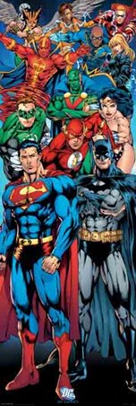 Superhero Team - Justice League of America