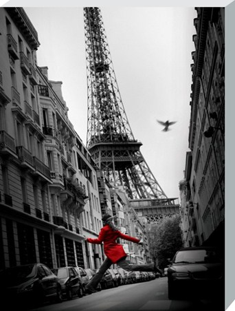 La Veste Rouge - Parisian Photography