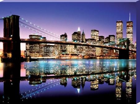 Lighting Up Manhattan - New York City