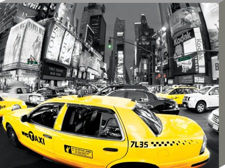 Rush Hour in Times Square - New York