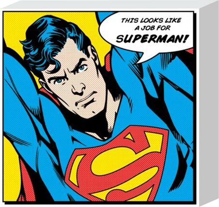 Superhero To The Rescue - Superman