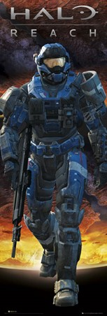Noble Team Leader Carter - Halo: Reach