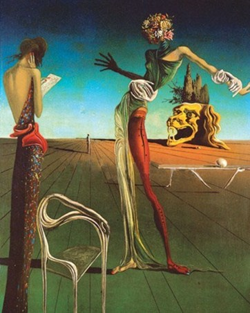 Flower Head - Salvador Dali