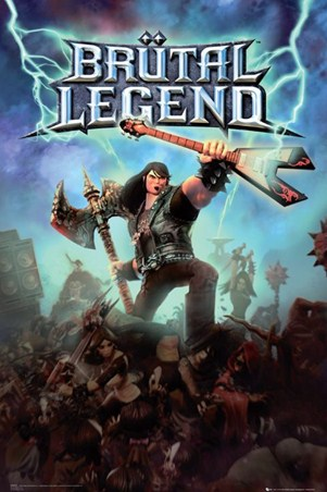 Brutal Legend Heavy Metal Computer Game Poster Popartuk