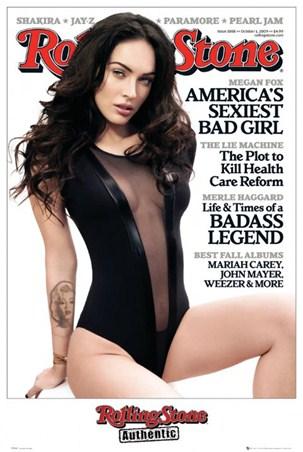 Rolling Stone Cover - Megan Fox