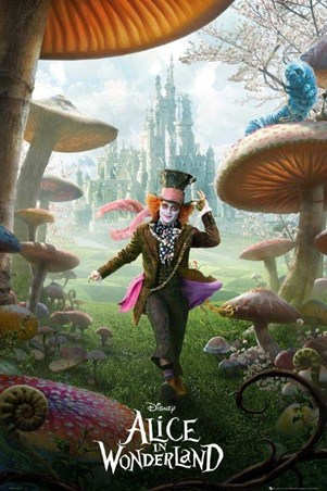 The Mad Hatter Skips Through the Toadstools - Tim Burton's Alice in Wonderland