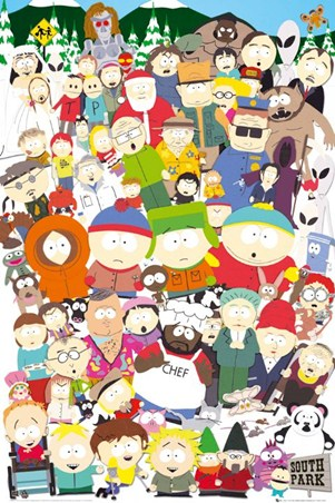 Cast Of South Park - South Park