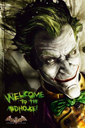 Welcome to the Madhouse! - Arkham Asylum