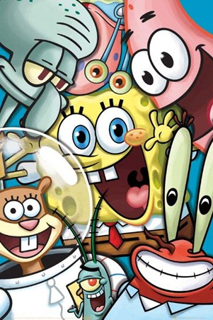 Bikini Bottom Collage - SpongeBob SquarePants