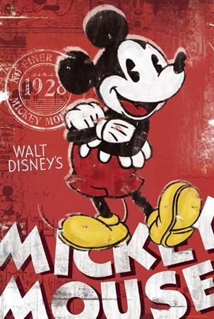 Unique Since 1928 - Walt Disney's Mickey Mouse