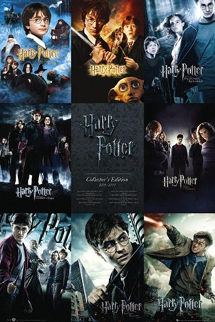 From boy to wizard the complete harry potter poster buy for Sejour complet harry potter