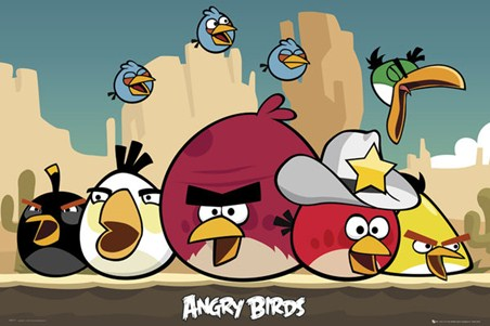 The Sheriff has Arrived! - Angry Birds