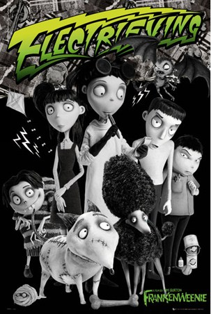 Victor, Sparky & the Gang - Tim Burton's Frankenweenie