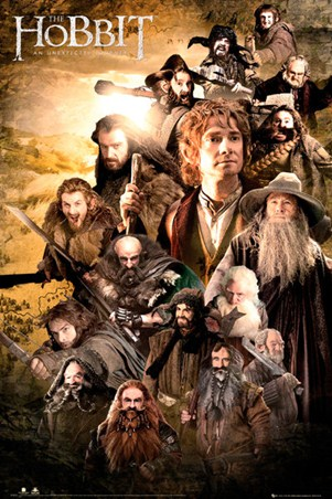 Character Collage - The Hobbit
