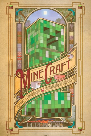 Mojang Computronic Entertainment Dispensary - Minecraft