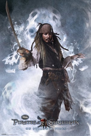 Captain Jack Sparrow - Pirates of the Caribbean On Stranger Tides
