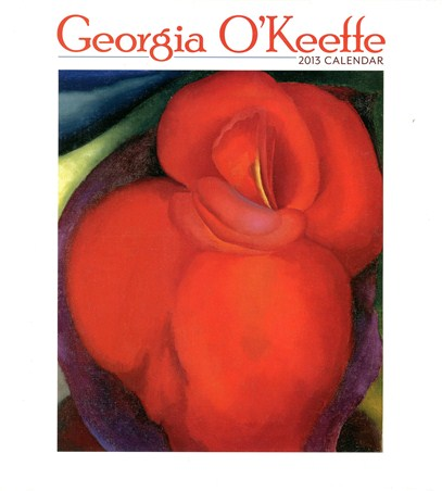 Purple Petunias, Red Canna & Other Contemporary Floral Paintings - Georgia O'Keeffe