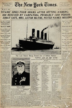 Titanic Tragedy - The New York Times
