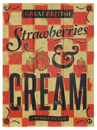 Strawberries & Cream - Great British
