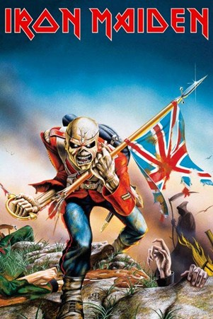 Framed Trooper - Iron Maiden