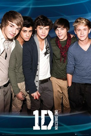Zayn, Louis, Harry, Liam and Niall - One Direction