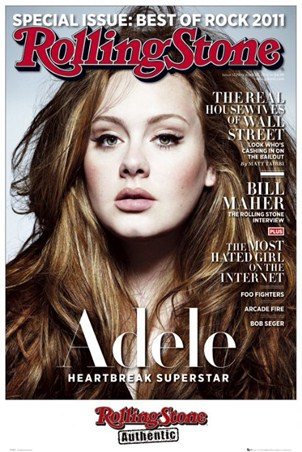 Heartbreak Superstar - Adele Rolling Stone Cover