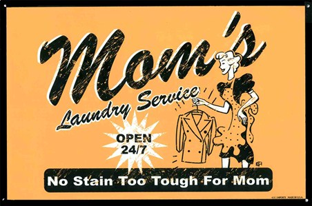 No Stain Too Tough For Mom - Mom's Laundry Service