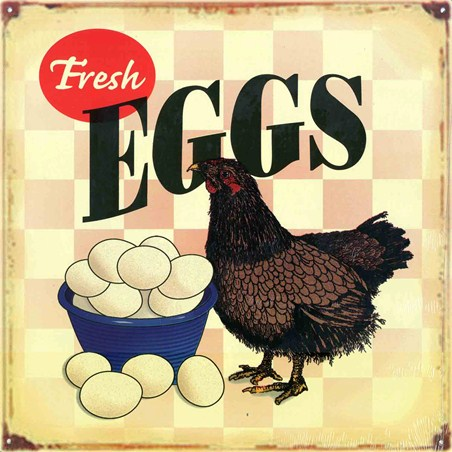 Poached, Fried or Scrambled - Fresh Eggs
