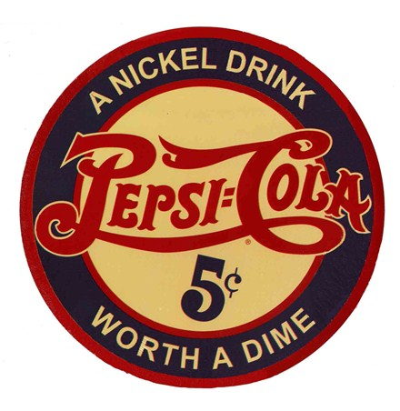 A Nickel Drink, Worth A Dime! - Pepsi Cola