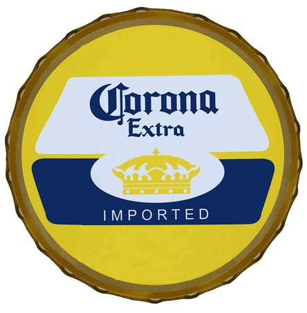 Imported Beer Bottle Top - Corona Extra