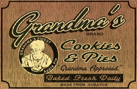 Baked Fresh Daily - Grandma's Cookies & Pies