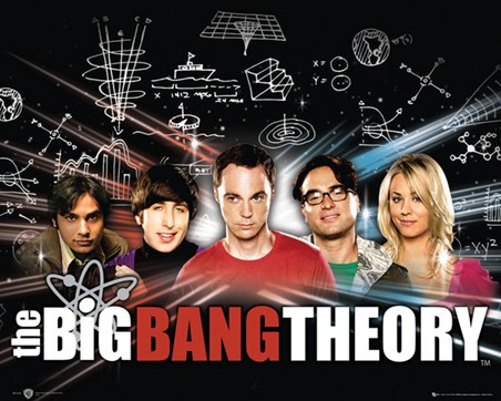 Raj, Howard, Sheldon, Leonard & Penny - The Big Bang Theory