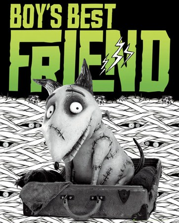 Framed Boy's Best Friend - Tim Burton's Frankenweenie