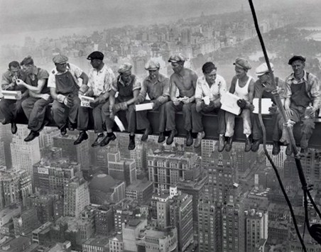 Lunch on a Skyscraper - Iconic New York Photo