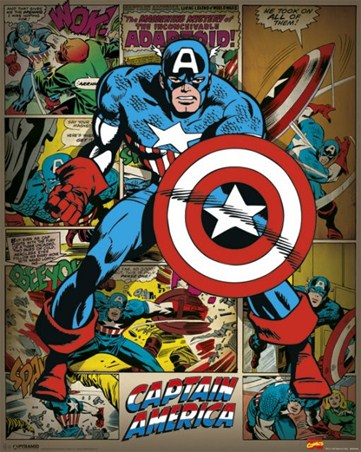 Framed He Took On All Of Them! - Captain America