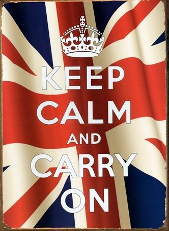 Keep Calm - Union Jack