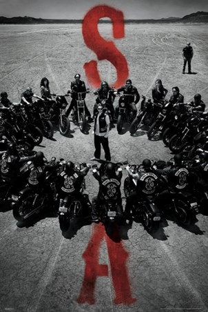 Bike Circle - Sons of Anarchy