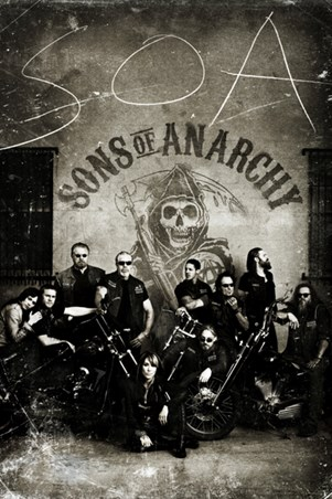 Vintage Bikers - Sons of Anarchy