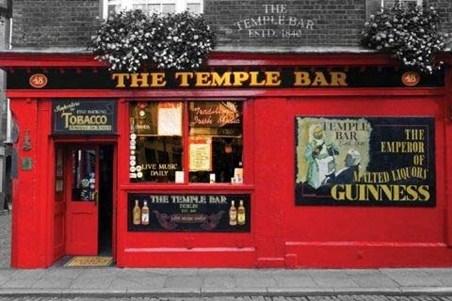 The Temple Bar - Dublin