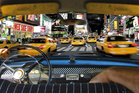 Times Square Taxi - New York