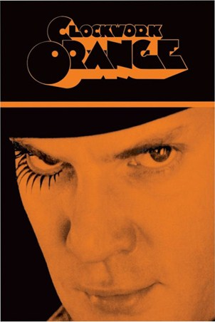 Malcolm McDowell is Alex Delarge - Clockwork Orange