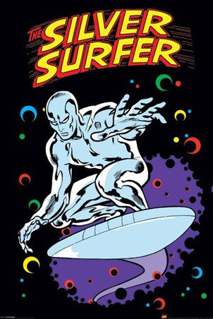 The Silver Surfer - Marvel Comics Superhero